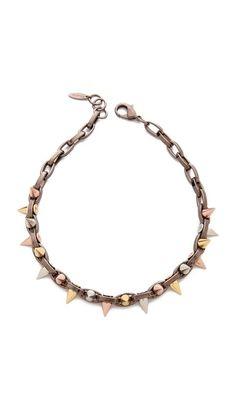 Joomi Lim spike necklace, now 50% off. Tempting! (So versatile)