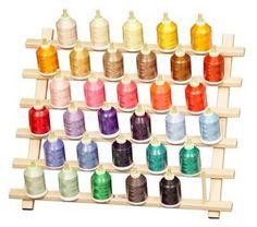 Thread Rack-33 Cone Capacity