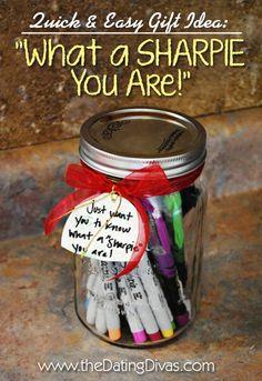 Perfect for back to school or teacher appreciation too! www.TheDatingDivas.com #giftidea