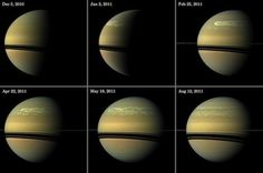 Massive Storm Reveals Water Deep Within Saturn's Atmosphere