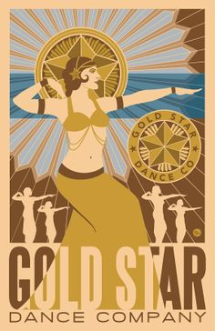 Gold Star Dance Company Poster by GoldStarBoutique on Etsy, Pre-order for only $15.00 and have it signed!