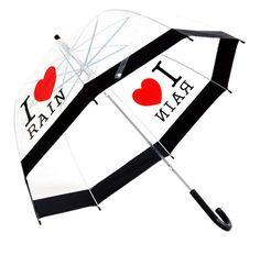 """i love rain"" #umbrella"
