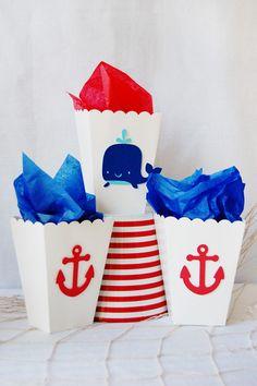 "Nautical Baby Shower ""Ahoy, It's a boy"""