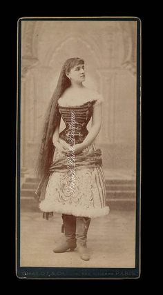 Woman With Very LONG Hair  Rare Large Size by FrenchPhotoBoutique, $50.00