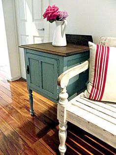 furniture painting and distressing tutorial