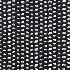 Textile Elephant Linen. Svenskt Tenn