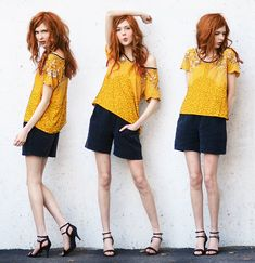 Yellow as the Sun (by Ebba Zingmark) http://lookbook.nu/look/3525923-Yellow-as-the-Sun