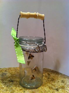 DIY American Girl Lightning Bug Jar
