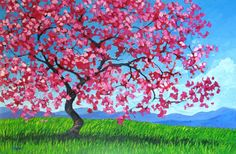 Pink Tree by artist Patty Baker