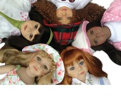 Play dolls by Titanic Effner Maruandfriends.com
