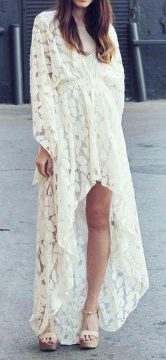 B☮H☮ Babe • 2-lengths hippie chic dresss