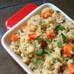 Quinoa Pilaf - The Lemon Bowl