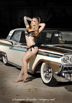 Megan Renee #pinup #rockabilly #silk stockings