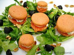 Concours Leclerc - Salade de macarons salés au saumon fumé
