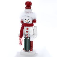 "15"" Hollywood Snowman Nutcracker  (HA0008)"