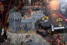 SDCC 2012 Hasbro Marvel Universe Diorama Display 010, via Flickr.
