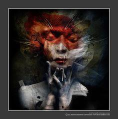 Seth Siro Anton - Red Female FIgure III