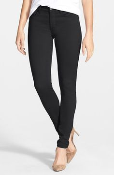 NYDJ 'Alina' Colored Stretch Skinny Jeans. Made in the USA.