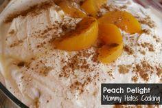 Peach Delight Trifle
