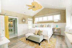 rug, floor, dream, color, sliding barn doors, master bedrooms, hous, yellow, sliding doors