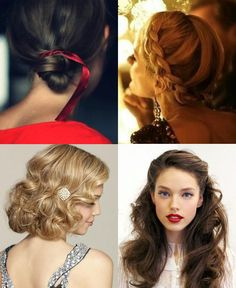 Holiday Hairstyles...