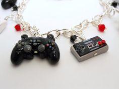 game controller charm bracelet \\