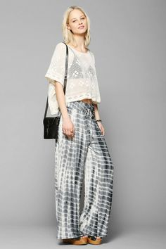 Staring At Stars Tie-Dye Wide-Leg Pant #urbanoutfitters