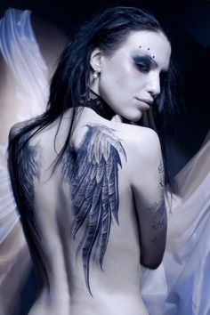 angel wing tats go...