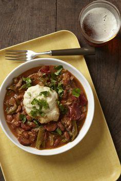 Cajun Chicken and Dumplings #chicken #slowcooker #easydinners