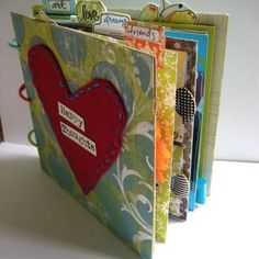 Happy Thoughts Mini Book...great gift idea