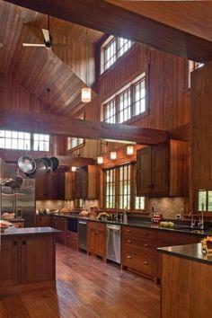 Thats a dream kitchen!