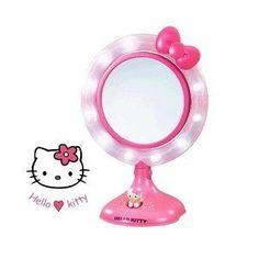 Hello Kitty Lighted Make-Up Mirror