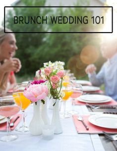 The best new wedding trend: brunch weddings!