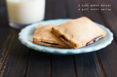 Paleo Raspberry Pop Tart Egg-Free and AIP by @AGirlWorthSavin http://www.agirlworthsaving.net/ #paleo #AIP