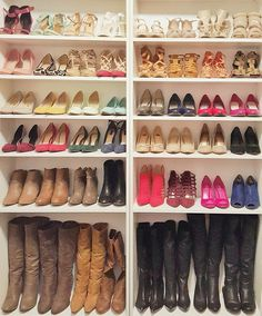 Shoe closet accompli