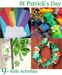9 (actually more than that!) St. Patrick's Day Kids Activities