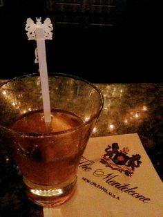 Sazerac at the Carousel Bar #TakeMeToNOLA