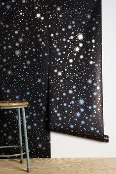 Graham & Brown Star-Struck Wallpaper   Urban Outfitters