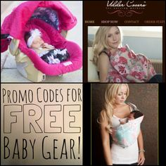 Promo Codes for FREE baby gear! AMAZING!!!