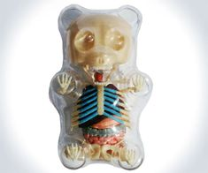 Anatomical Gummi Bears: creepy, but cool!