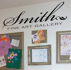 Fine Art Gallery-for the kids' drawings