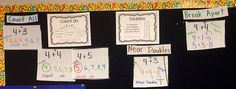 Number Talks Addition Strategies