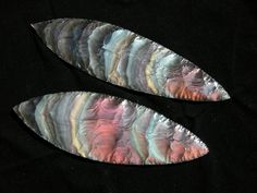 rainbow obsidian blades