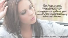 My Heart Can't Tell You No- Sara Evans