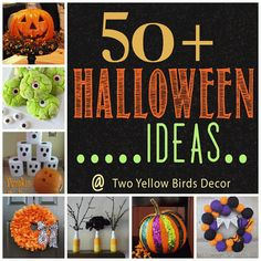 Halloween Home Decor Ideas Roundup