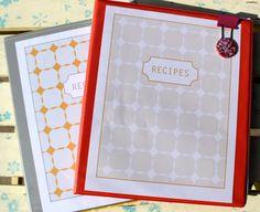 Recipe Binder Gift | Pretty Prudent