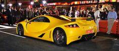 El GTA Spano, en Need for Speed La presentación de la película en el Paseo de la Fama de Hollywood tuvo al deportivo español como protagonista.