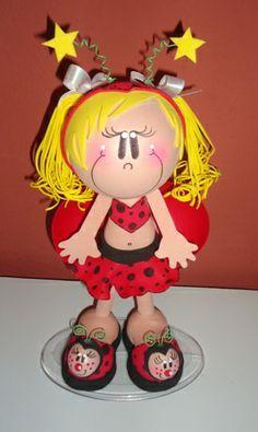 fun foam little ladybug girl...photos