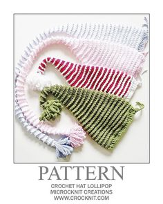 Crochet Elf Pixie Hat