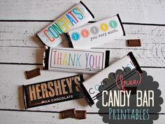 free thank you and congrats printables